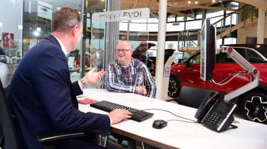 Vauxhall Mokka-e - first report dealership