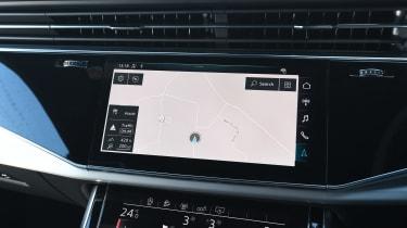 Audi Q8 - sat-nav