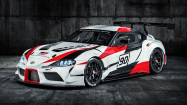Toyota Supra GR concept front static