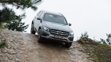 Mercedes GLC long-term test - downhill