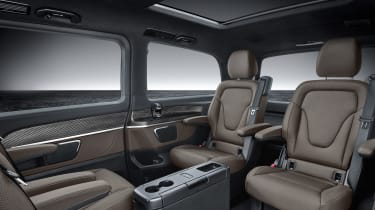 Mercedes V-Class facelift - studio seats