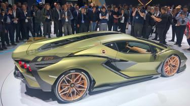 Lamborghini Sian - Frankfurt side