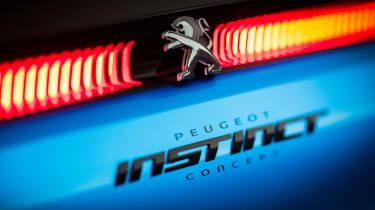 Peugeot Instinct concept - Instinct badge