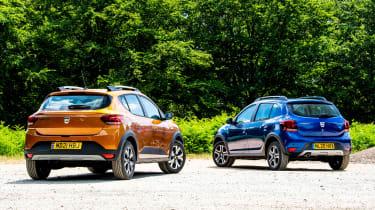 Dacia Sandero Stepway long termer - first report rear