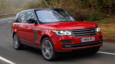 Range Rover SVAutobiography Dynamic 2017 - front cornering