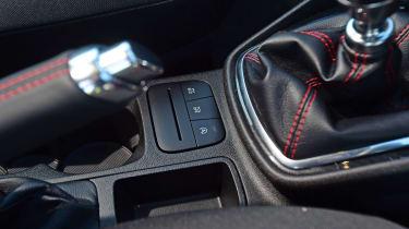 Ford Fiesta Sport Van buttons