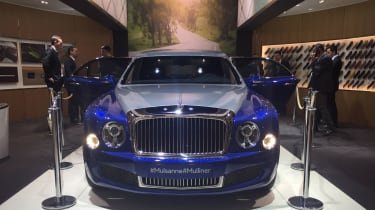 Bentley Mulsanne Grand Limousine by Mulliner front