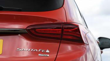 Hyundai Santa Fe - rear light