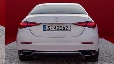 Mercedes C-Class 2021 - rear