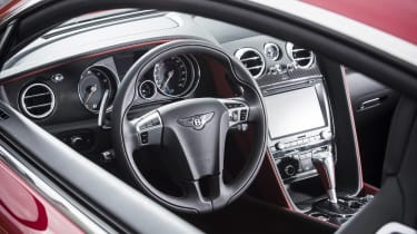 Bentley Contintental GT Speed 2015 interior