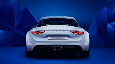 Renault Alpine Vision concept - rear white