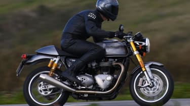 Triumph Thruxton R review - side profile
