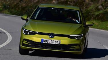 Volkswagen Golf Mk8 - front cornering