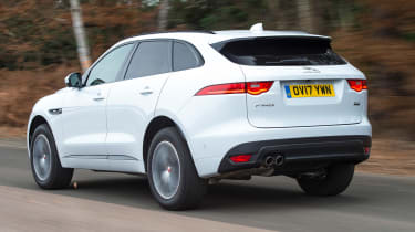 Jaguar F-Pace - rear