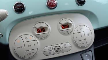 Fiat 500 Cult 2014 buttons