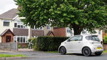 Searching for the Aston Martin Cygnet - parking