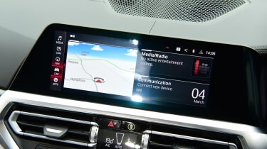 BMW M3 Competition - infotainment