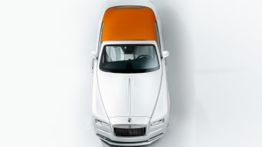 Rolls-Royce Dawn Inspired by Fashion - above