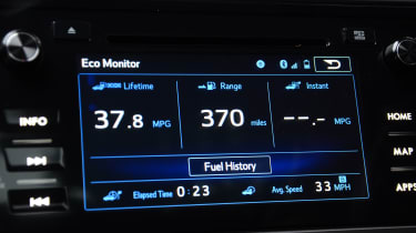 Long-term test review: Subaru Outback infotainment