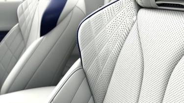 Lexus LC Convertible - seat detail