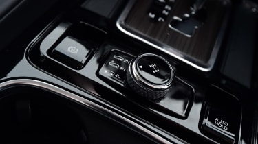 SsangYong Rexton long term - first report interior detail