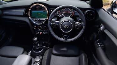 Mini Cooper Convertible Interior