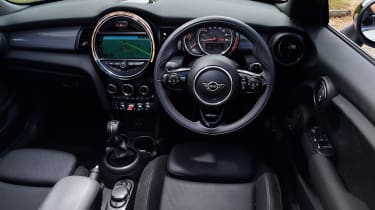 Mini Cooper Convertible Interior