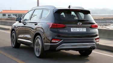 New Hyundai Santa Fe - rear