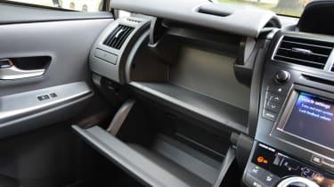 Toyota Prius+ interior detail