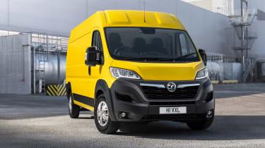 Vauxhall Movano-e - front static