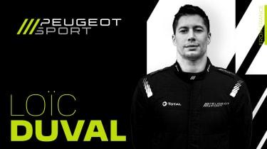 Peugeot WEC - Duval