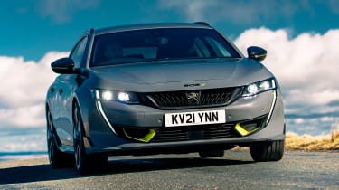 Peugeot 508 Sport Engineered - front cornering