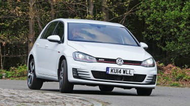VW Golf GTI - front cornering