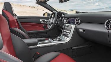 Mercedes SLC roadster - interior