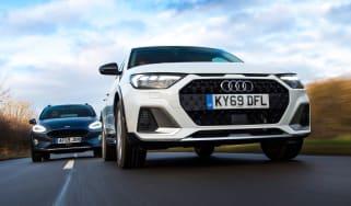 Audi A1 Citycarver vs Ford Fiesta Active - header