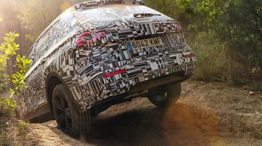 SEAT Tarraco prototype - rear off-road