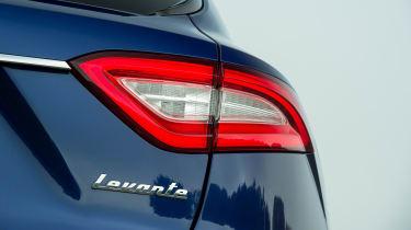 Maserati Levante used review - rear light