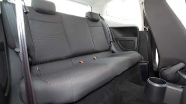 Used Volkswagen up! - rear seats