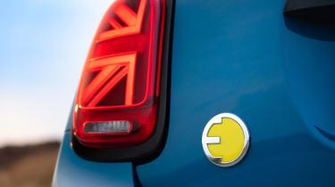 MINI Electric - rear badge