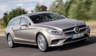 Mercedes CLS Shooting brake front