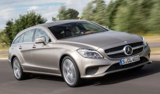 Mercedes CLS Shooting brake front