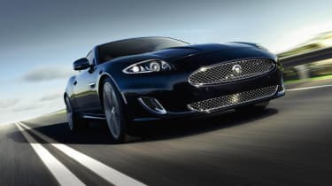 Jaguar XK Artisan SE front tracking