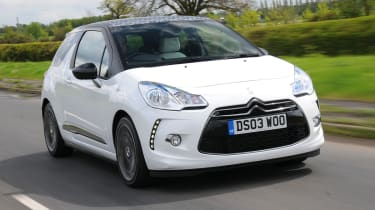 Citroen DS3 DSport 1.6 front tracking