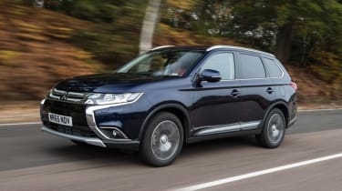 Used Mitsubishi Outlander - front action