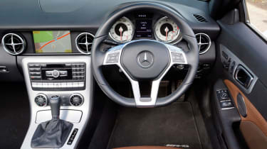 Mercedes SLK 250 CDI interior
