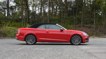 Audi A5 Cabriolet - roof closed