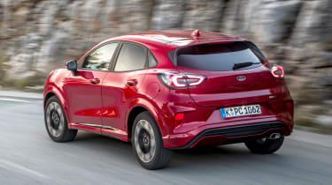 Ford Puma - rear action