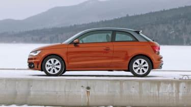 Audi A1 quattro profile