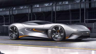 Jaguar Vision GT concept - front