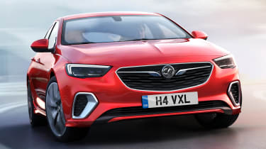 New Vauxhall Insignia GSi - front